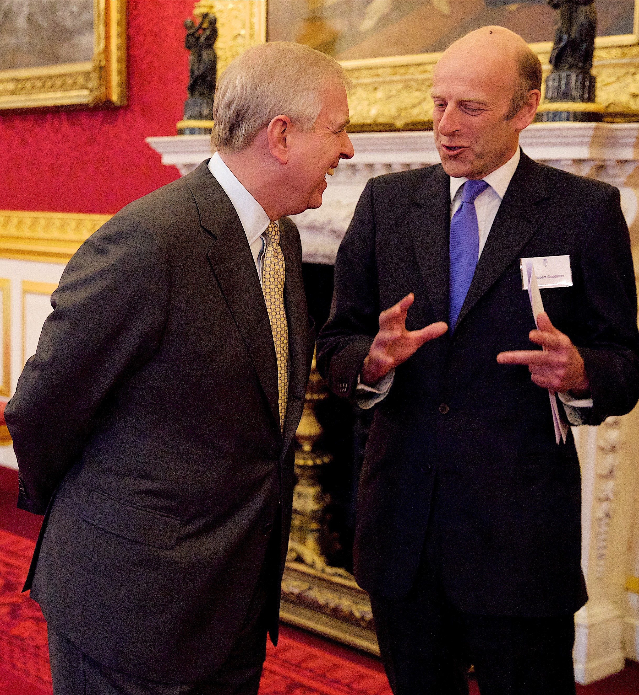 The Duke of York and Rupert Goodman