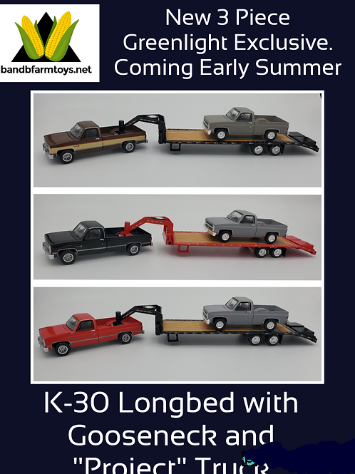 Project Truck 3 pc. set all 3 versions