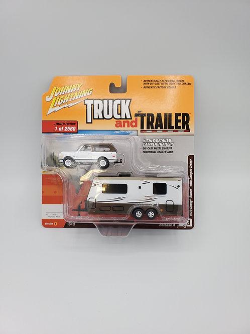 1970 Chevy Blazer with Camper