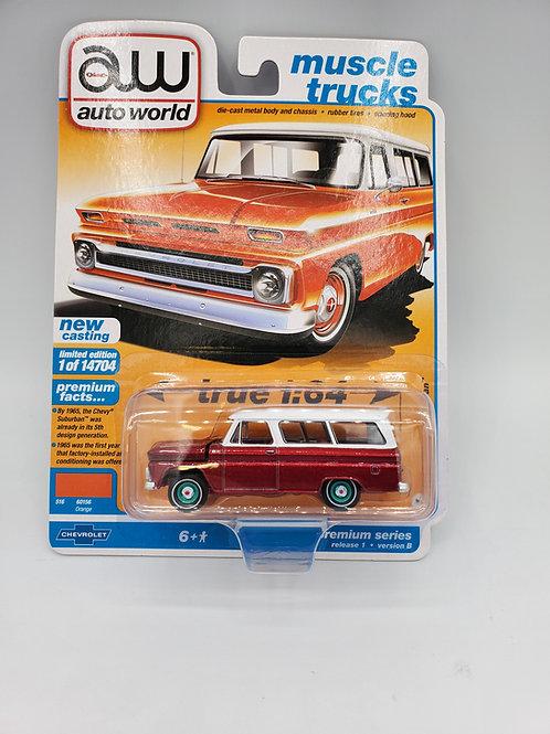 """1965 Chevy Suburban Orange """"Chase"""""""