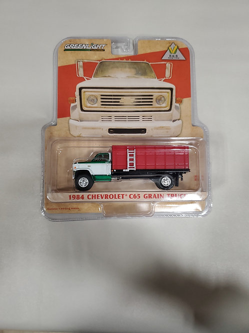 *CHASE * 1/64 1984 Chevy C65 Grain Truck Red  w/ red Bed