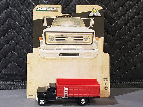1/64 1984 Chevy C-60 Grain Truck Black Cab