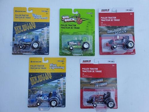 Set of 5 Ertl Pullers