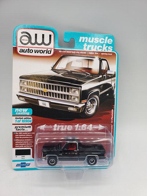 1982 Chevy Silverado Midnight Black