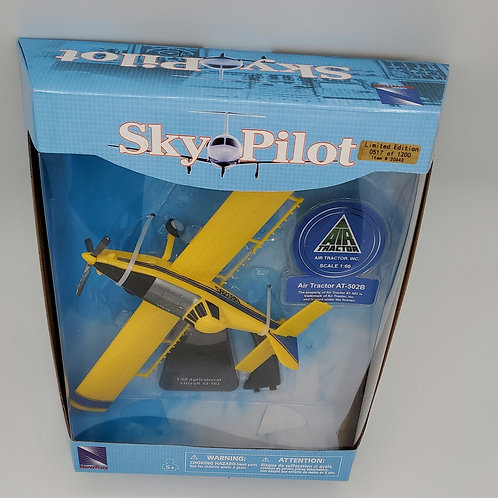1/60 scale Crop Duster Yellow