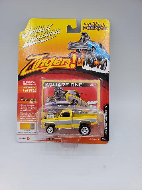 1973 Chevy Cheyenne Zinger Yellow/ Silver