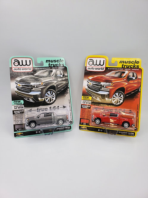 Set of 2019 Chevy Silverado LTZ Z71