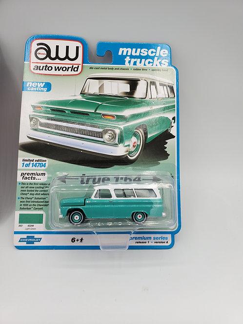 1965 Chevy Suburban (Green)