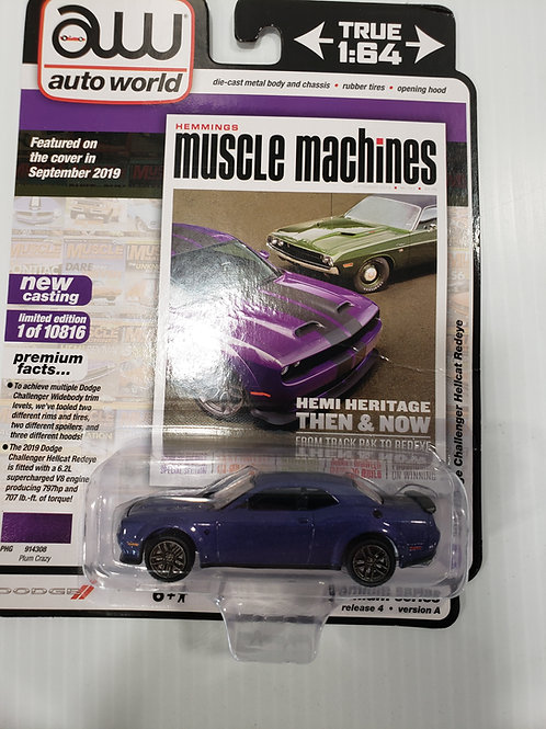 2019 Dodge Challenger Hellcat Redeye purple