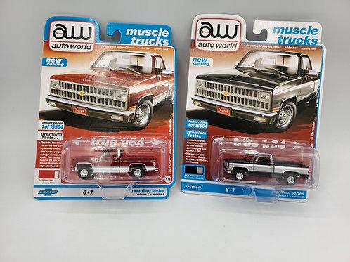 1981 Chevy Silverado Set