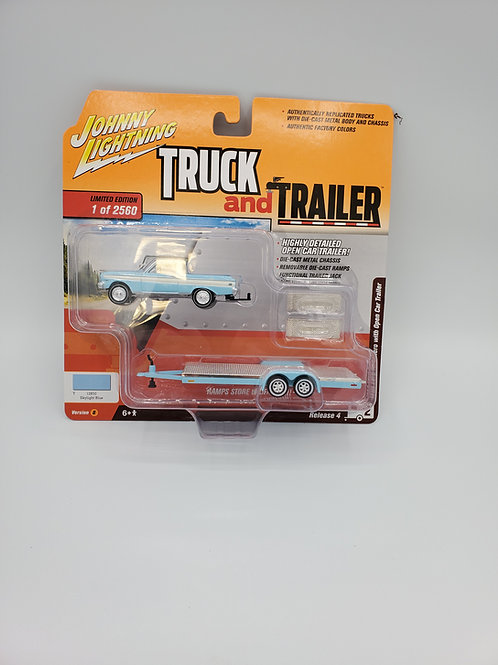 1964 Ford Ranchero with trailer