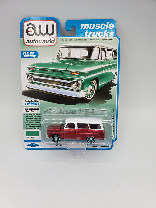 1965 Chevy Suburban Green (Chase)