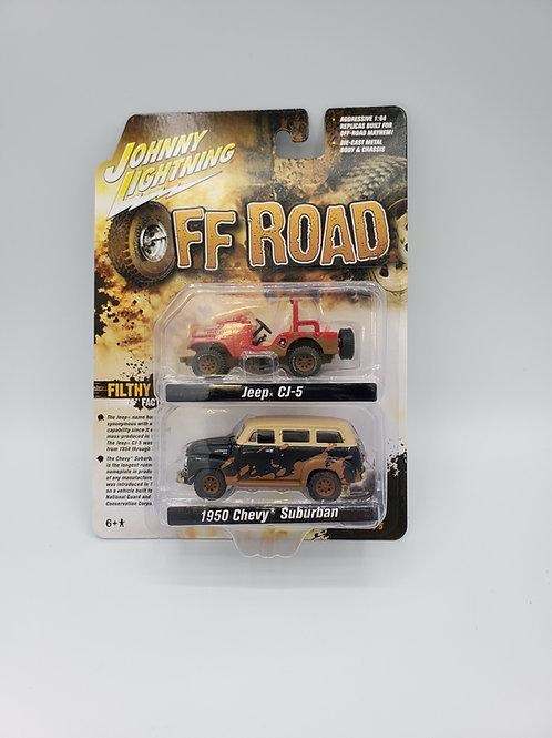 Jeep CJ-5/Chevy Suburban Off Road Set