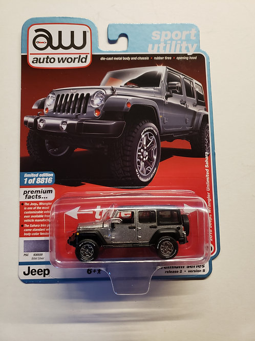 2018 Jeep Wrangler Unlimited gray