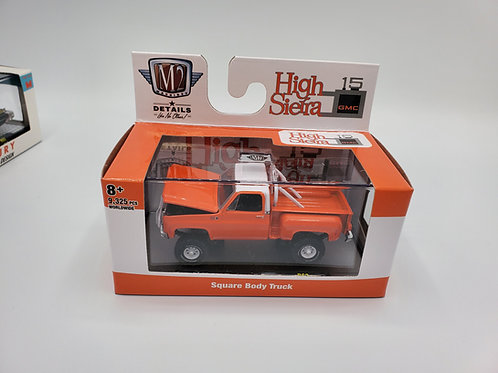 1976 GMC High Sierra Stepside orange M2