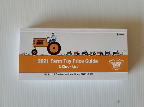 2021 Price Guide 1/32 and 1/16