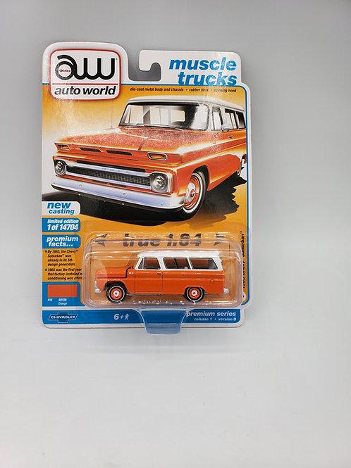 1965 Chevy Suburban Orange