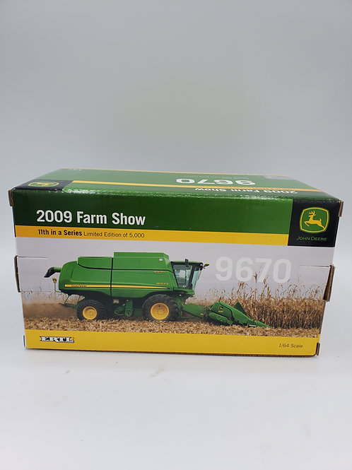 1/64 JD 9670 Combine Farm Show 2009