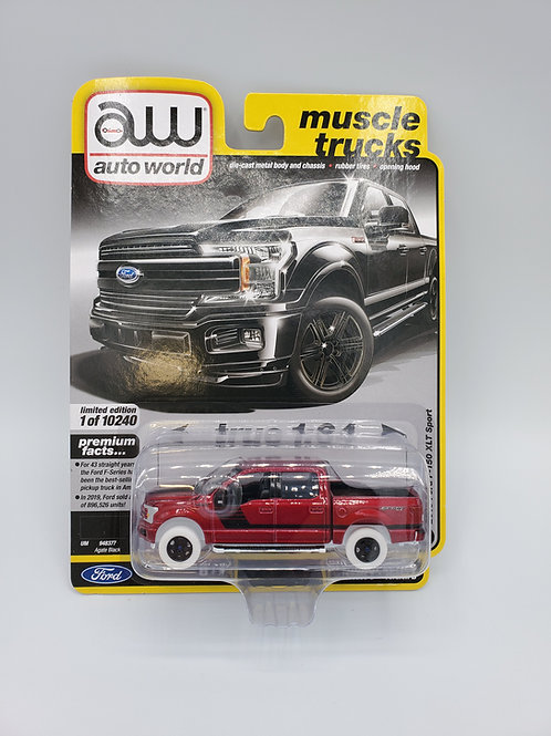 2019 Ford F150 XLT Sport (Ultra Red)