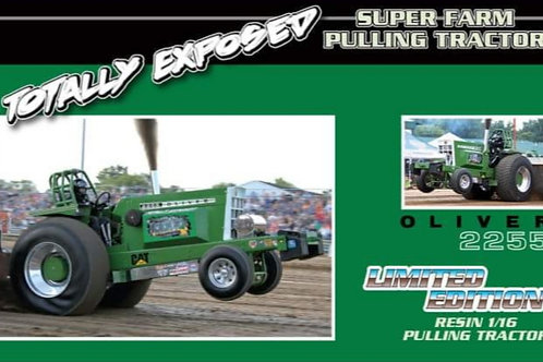 1/16 Totally Exposed Oliver 2255 Pulling Tractor