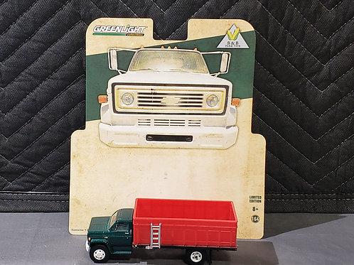 1/64 1984 Chevy C-60 Grain Truck Green Cab