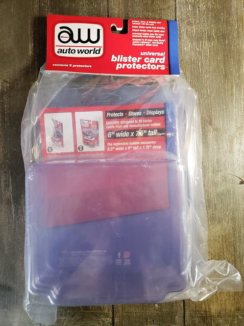 Blister Card Protectors 6 pack