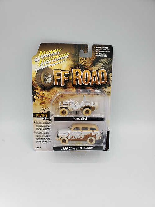 Jeep CJ-5/Chevy Suburban Off Road Set Chase