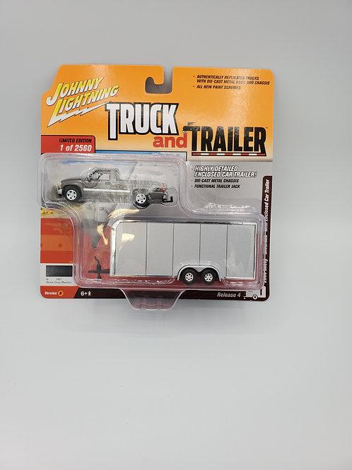 2000 Chevy Silverado with Trailer