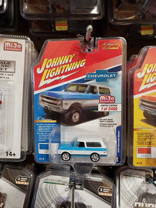 1970 Chevy Blazer Blue
