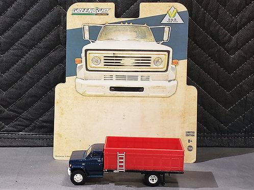 1/64 1984 Chevy C-60 Grain Truck Blue Cab