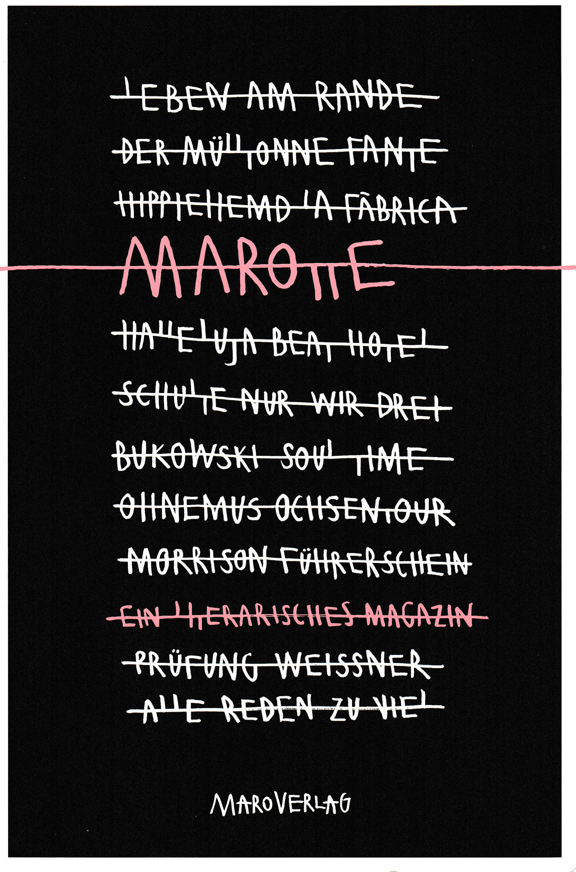 Anthologie von Maro