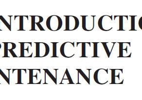 เทคนิคการบำรุงรักษาเชิงพยากรณ์ (Predictive maintenance technique)
