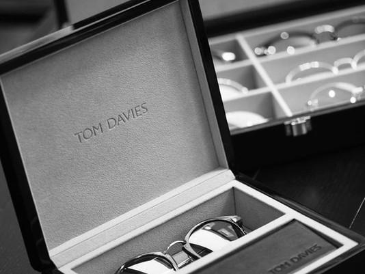 Td Tom Davies Eyewear in the Spotlight