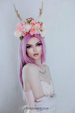 Photography, styling, edit by ClickClickBang Photography http://www.clickclickbang.co.uk/ Outfit: Kiku Boutique Crown: Flora and the Fox