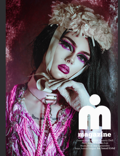 iMirage Magazine cover issue #200  shot by Lillian Liu