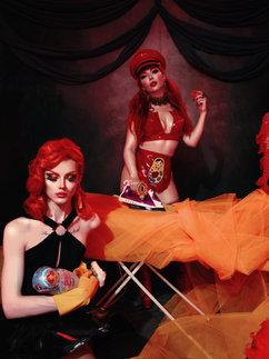 """Quarrydoll goes to Russia"" Photo: William Barrington-Binns (in association with ARRI) Concept, styling: Quarrydoll Model, MUA: myself Featuring: Karina Akopyan"