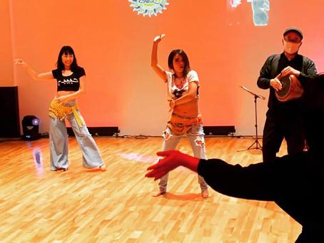 ベリーダンス1周年記念ショー