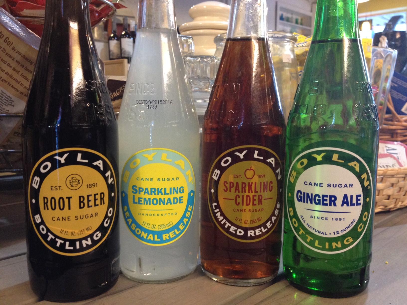 Sodas, Juices, and Ales