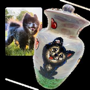 Pomeranian Urn