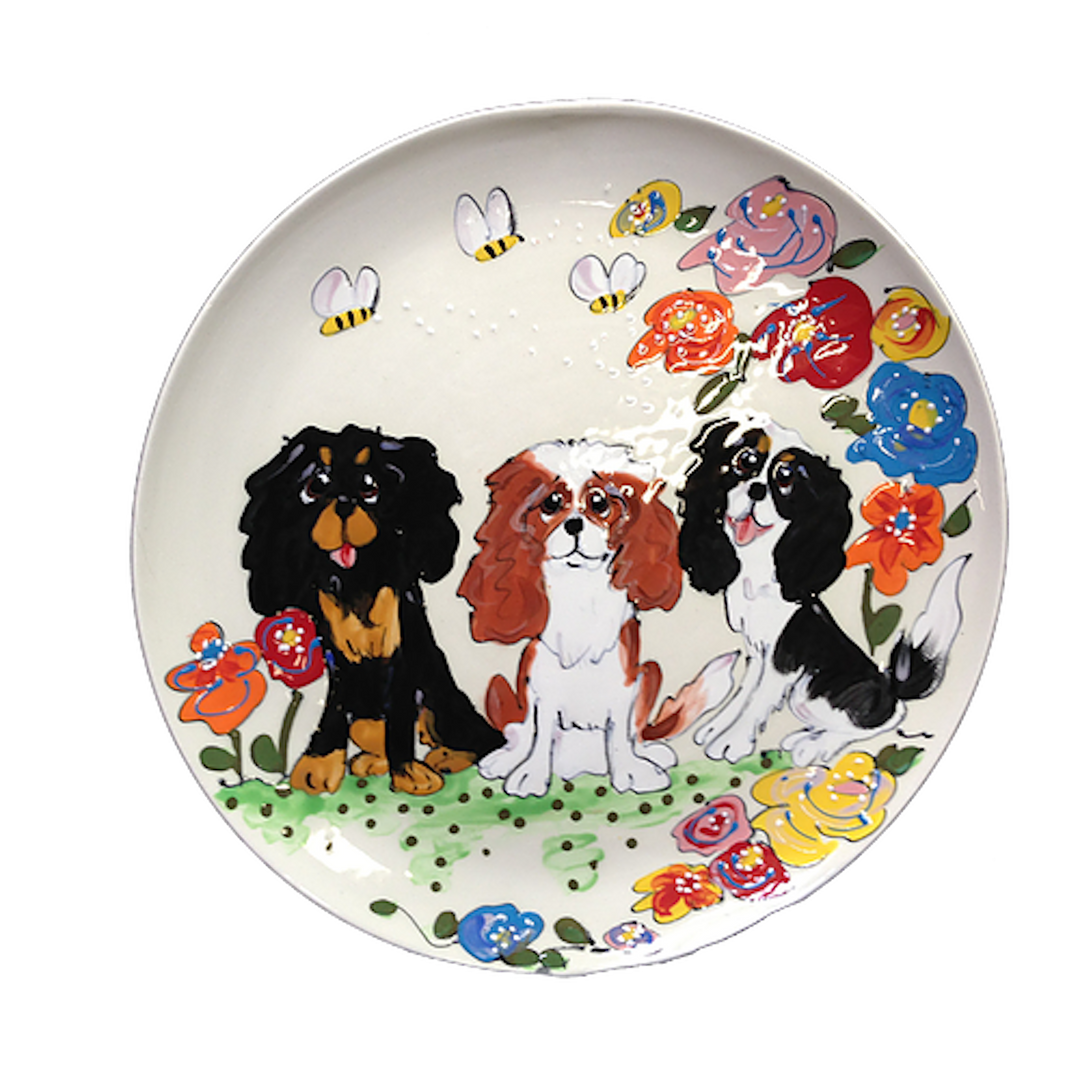 Cavalier King Charles Collection plate.p