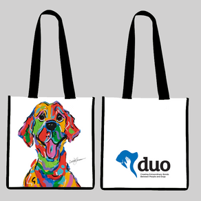 DUO DOGS TOTE
