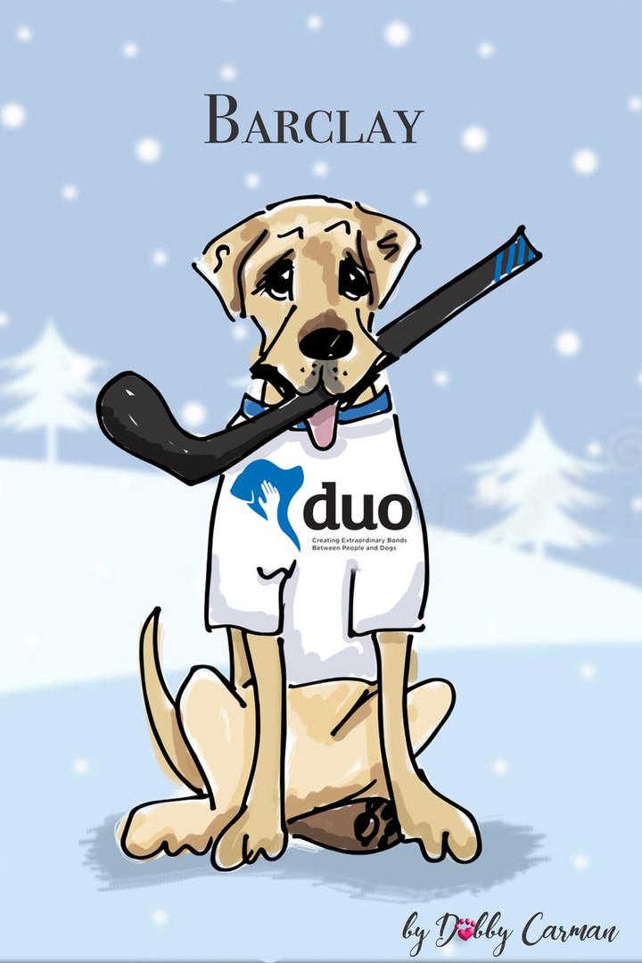 hockey dog copy