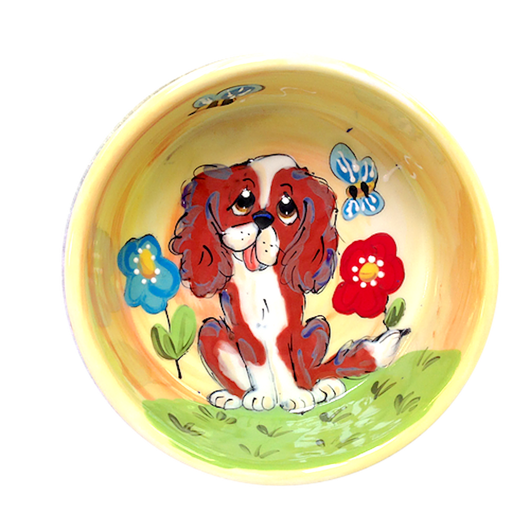Cavalier King Charles Collection bowl.pn