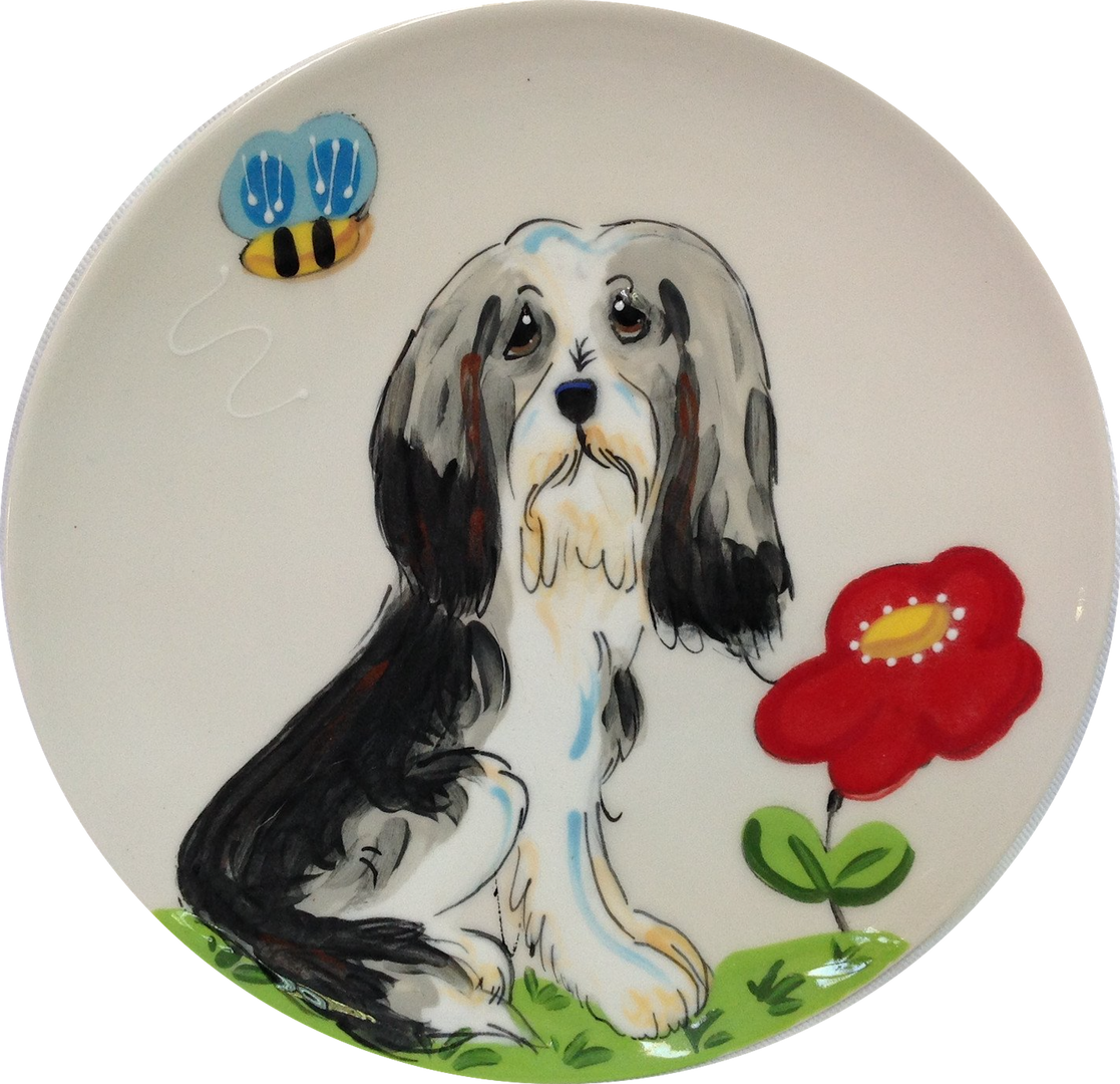 Bearded Collie Trophy Platter White.png