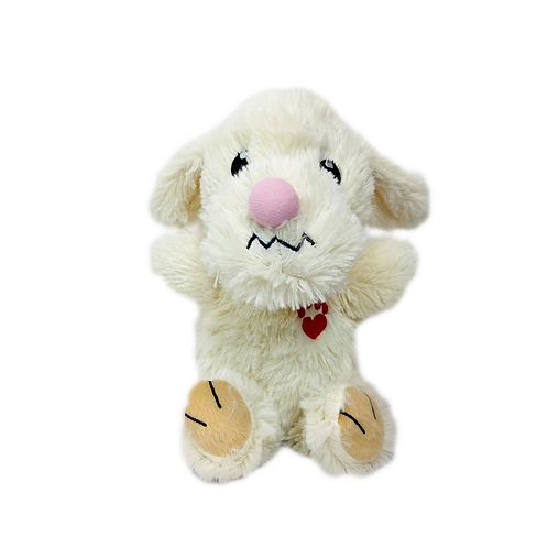 Multipet Bowzers and Meowzers™ Cha Chaz Squeaky Plush Dog Toy, Large