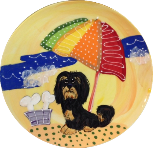 HAVANESE BEACH YELLOW TROPHY PLATE.PNG