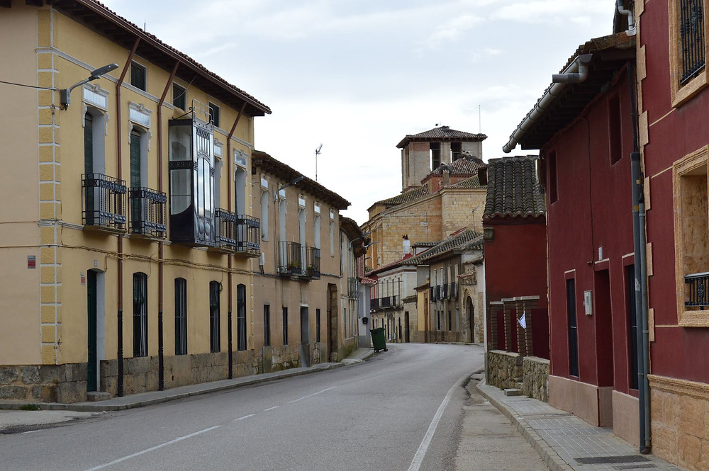 Calle principal de Villabrágima
