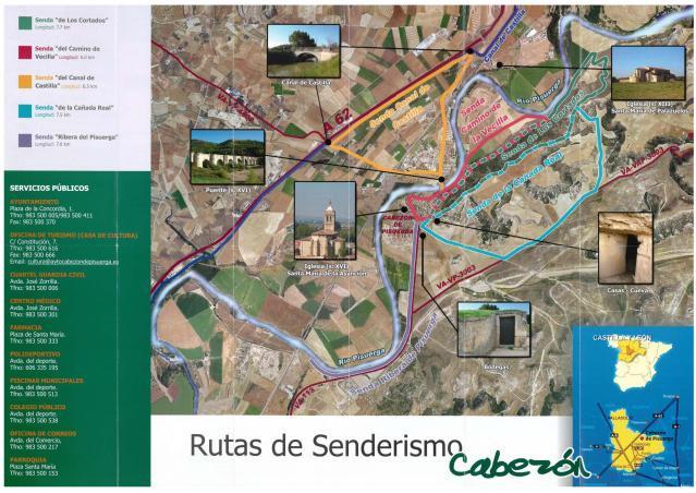 Rutas de Cabezón de Pisuerga