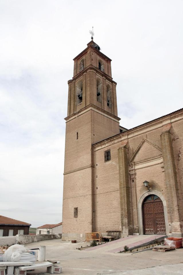 Iglesia de Ataquines. Foto: Provincia de Valladolid