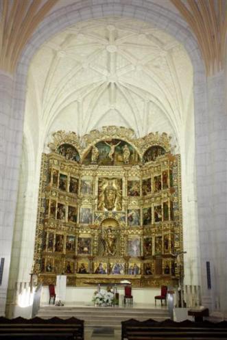 Retablo de la Iglesia de San Pelayo de Olivares de Duero